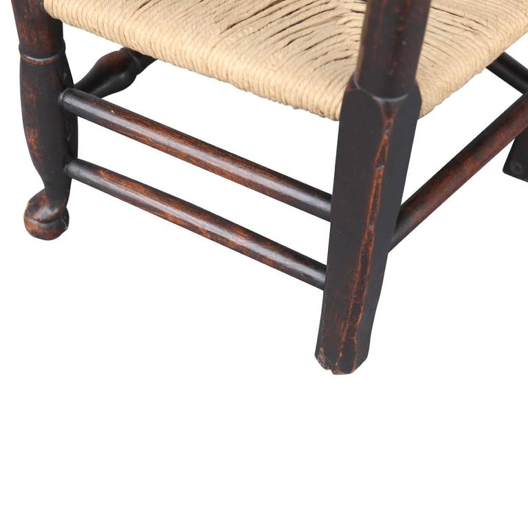 Georgian Ladder Back Country Armchair For Sale 2