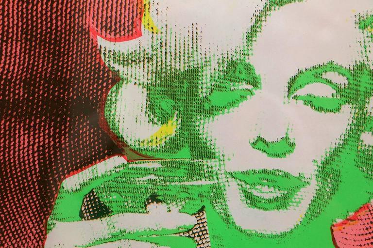 Original 1968 Marilyn Monroe Serigraph In Good Condition In Houston, TX