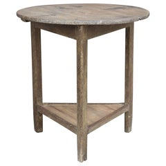 Late 18th Century Pine Cricket Table