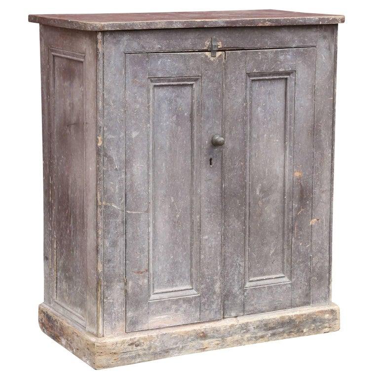 Painted Two-Door Cabinet