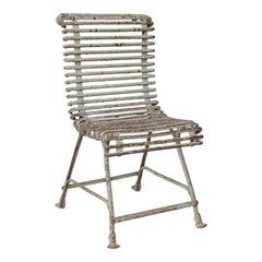 French Arras Iron Garden Chair