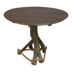 Vintage French Twig Table