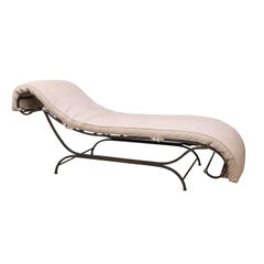 Iron Chaise Longue