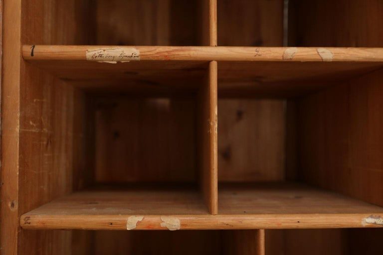 Swedish Pine Tall Cabinet For Sale 2