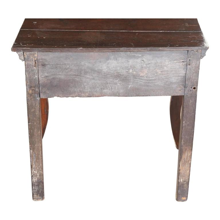 English Oak Side Table For Sale 4