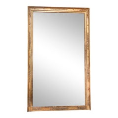 Large French Bois Doré Mirror
