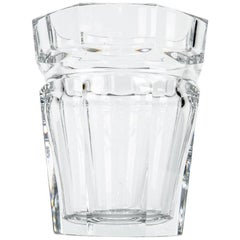 Tall Baccarat Crystal Art Deco Style Ice Bucket