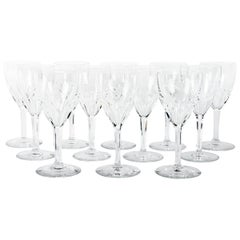 Baccarat Set of 12 Wine Glasses
