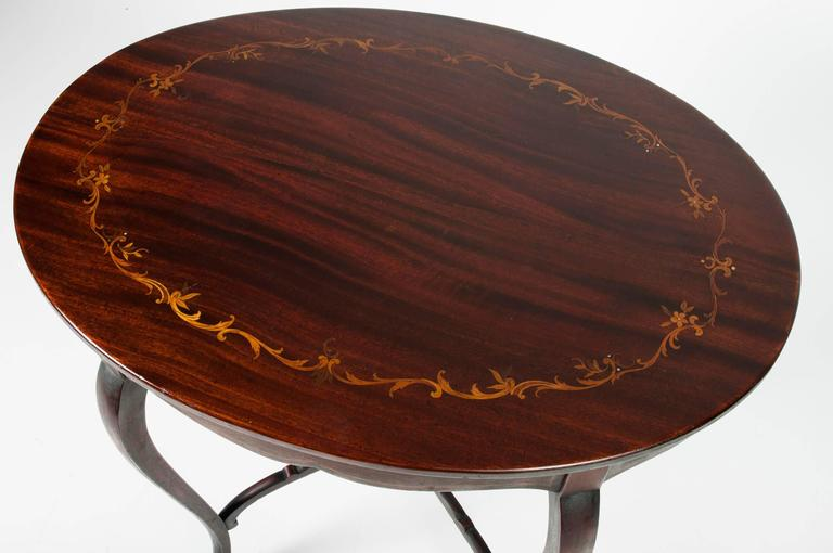 Antique inlaid mahogany end table for sale at 1stdibs for 10 inch wide side table