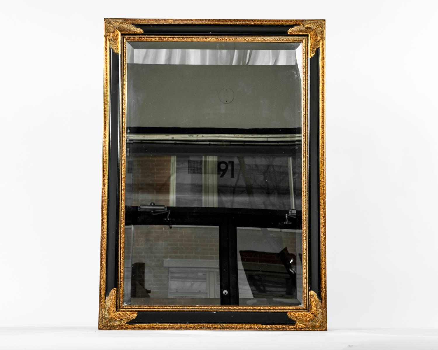 Vintage wooden wall mirror for sale at 1stdibs for Long wall mirrors for sale
