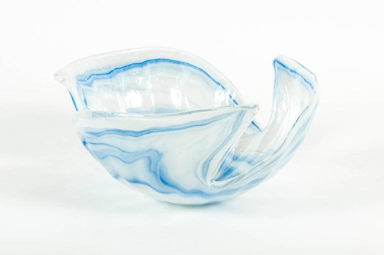 Large vintage murano decorative centerpiece bowl at stdibs