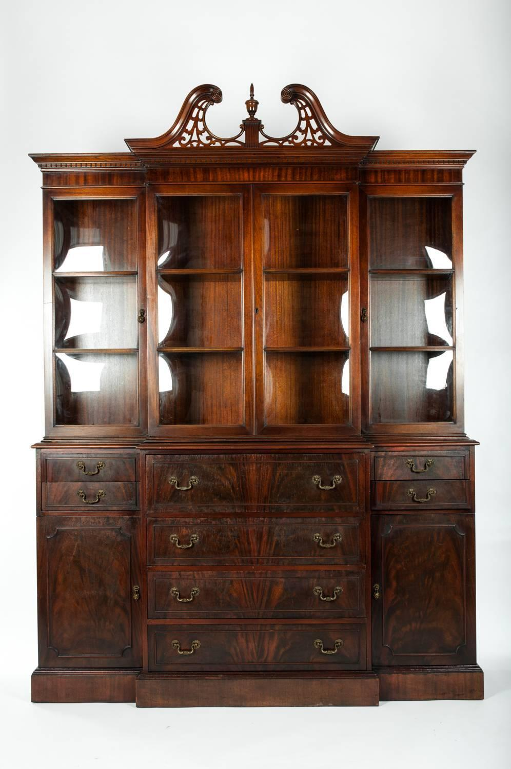 Antique American China Cabinet Hutch For Sale At 1stdibs