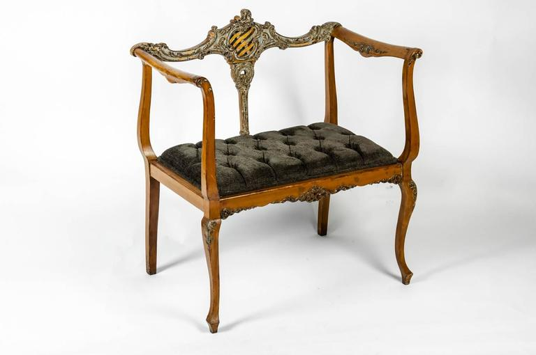Foyer Bench For Sale : Antique french entry bench for sale at stdibs
