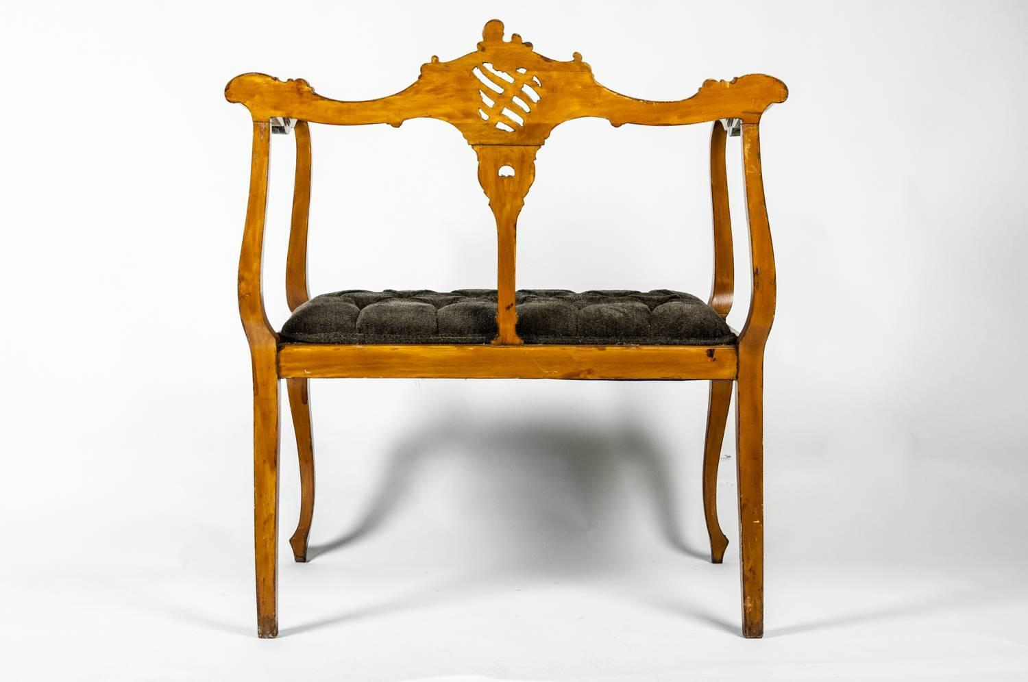 Antique French Entry Bench For Sale At 1stdibs