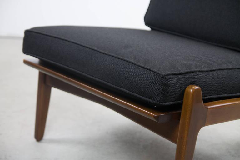 Danish Rare Ib Kodod Larsen  Slipper Chair For Sale
