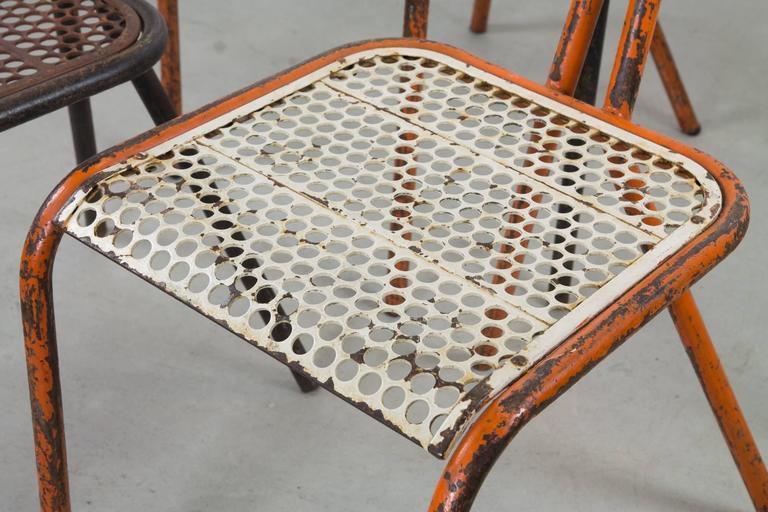 Modern Rare Set of Four Rene Malaval 'Radar' Chairs For Sale