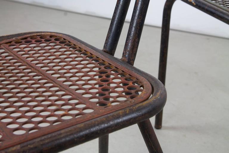 20th Century Rare Set of Four Rene Malaval 'Radar' Chairs For Sale