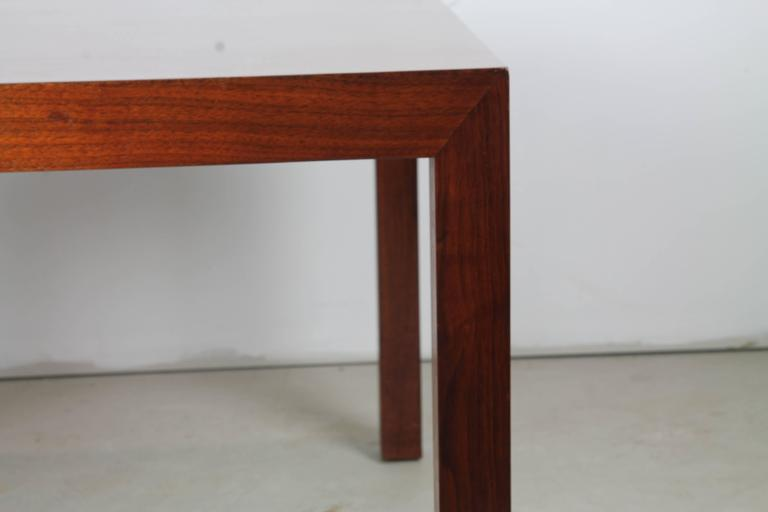 American Mahogany Parsons Table by Edward Wormley for Dunbar For Sale