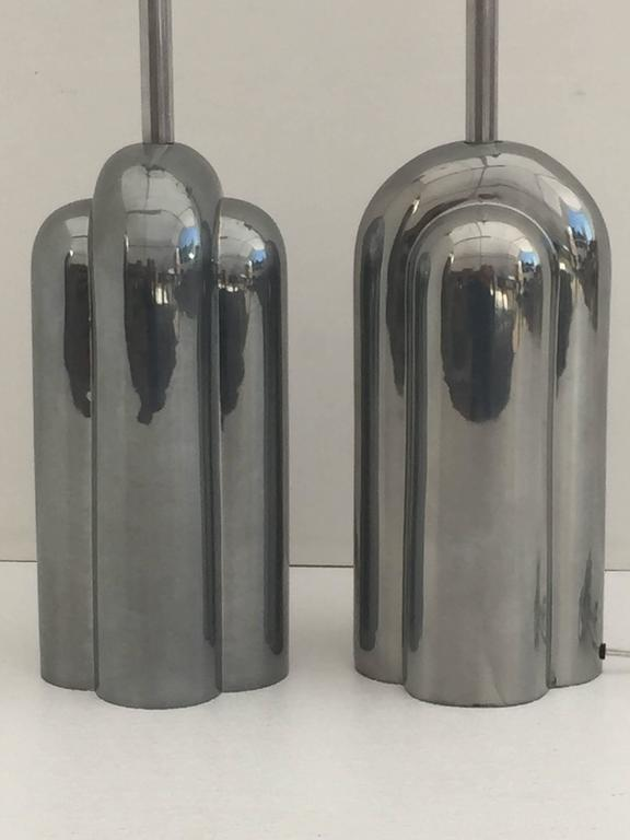 American Art Deco Style Streamline Lamps by Westwood For Sale