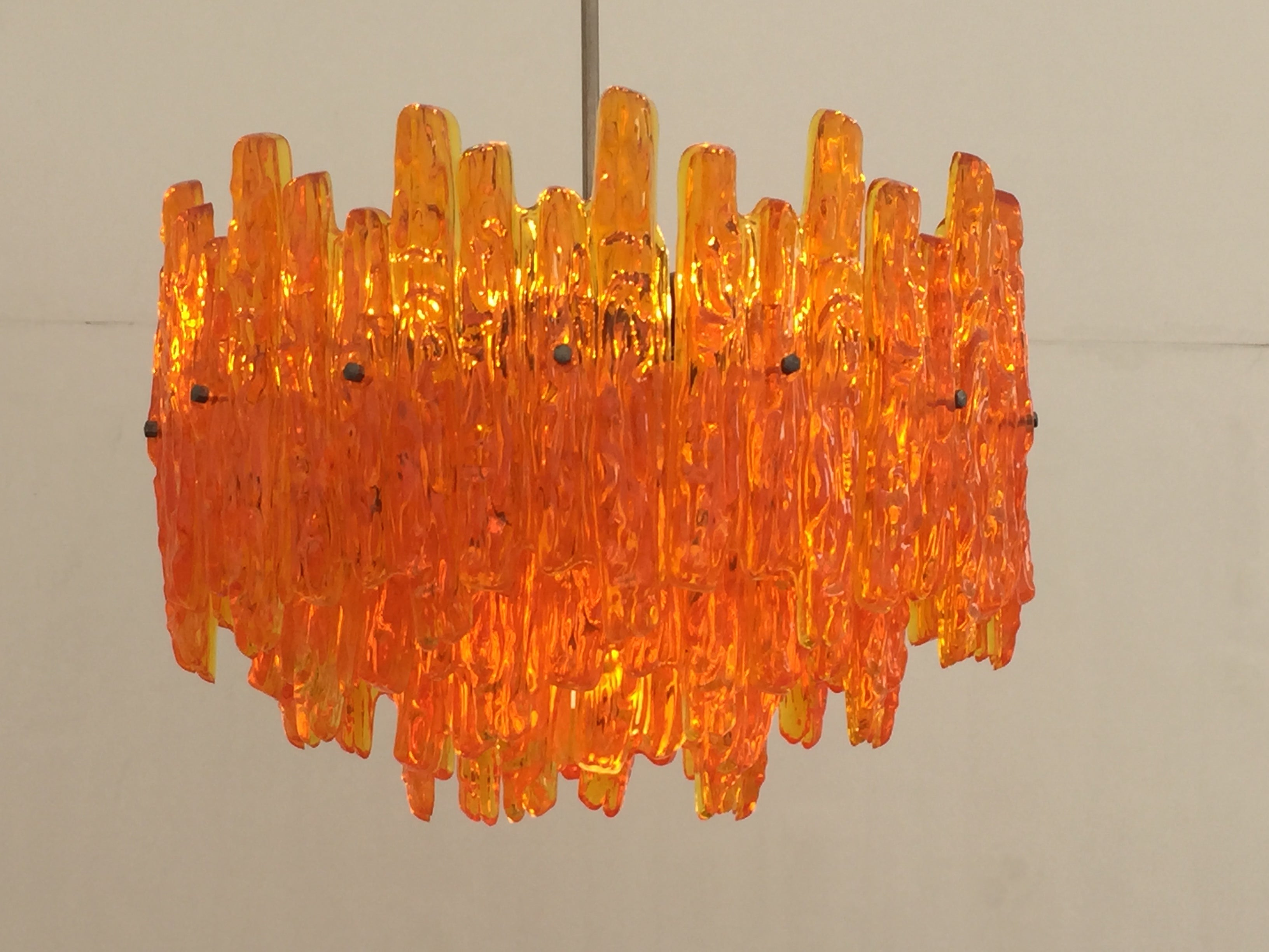 chandelier pixie mosaic dancing orange middle mixed colours lighting length online the piece