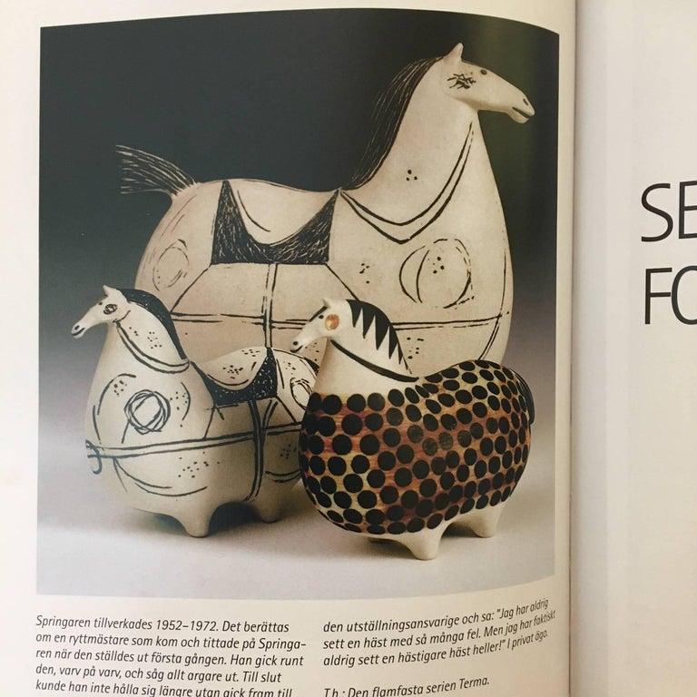 Stig Lindberg Three Stoneware Horses Springare, Sweden, 1952-1972 For Sale 4
