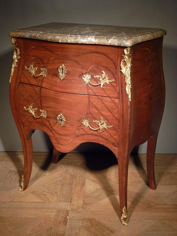Late 18th Century Dutch Louis XV Commode, Bearing the Stamp of the Guild of Saint Joseph For Sale