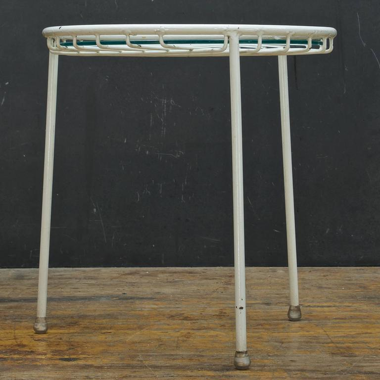 Mid-Century Modern 1950s Rare George Nelson for Arbuck Table or Stool For Sale