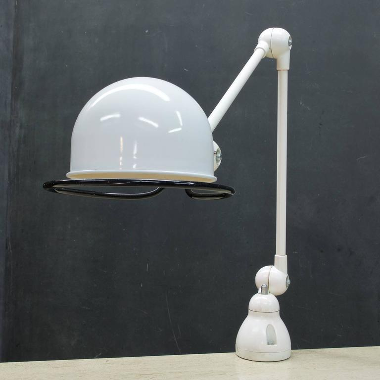 Jielde White French Industrial Drafting Task Desk Clamp Light at ...
