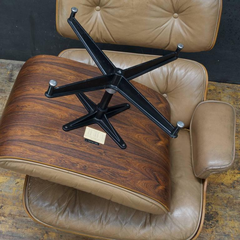 Eames 670 671 Brazilian Rosewood Lounge Chair And Ottoman