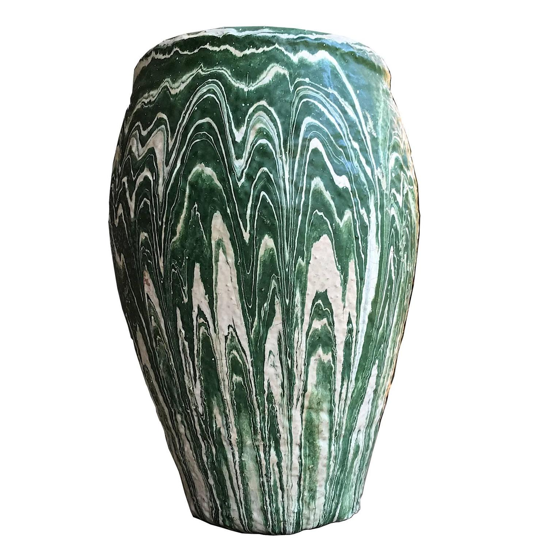 1930s ozarkian roadside tourist swirl missionware pottery vase 1930s ozarkian roadside tourist swirl missionware pottery vase arkansas missouri for sale at 1stdibs reviewsmspy