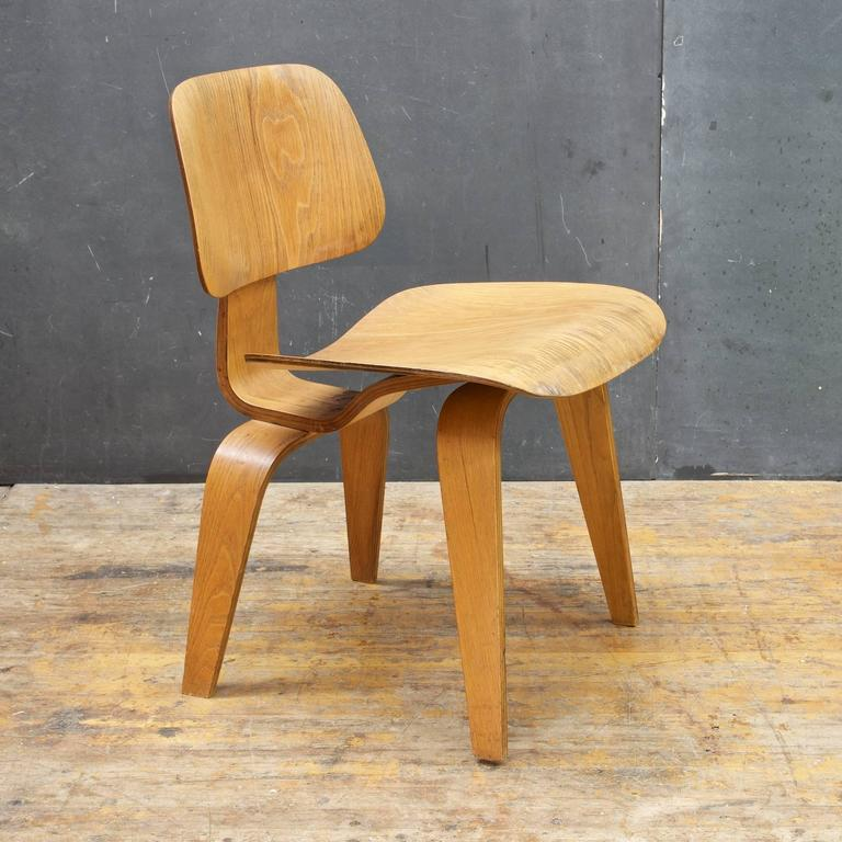 1948 Charles Eames Evans Bent Plywood Herman Miller Dining Chair 3
