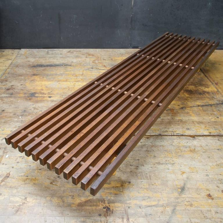 design prepare your nelson coffee for wood ideas style george table slat within new and bench