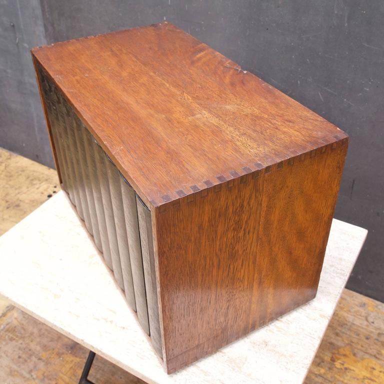 Mid Century Modern 1950s Prohibition Style Hidden Revolving Liquor Cabinet  Library Box False Books For