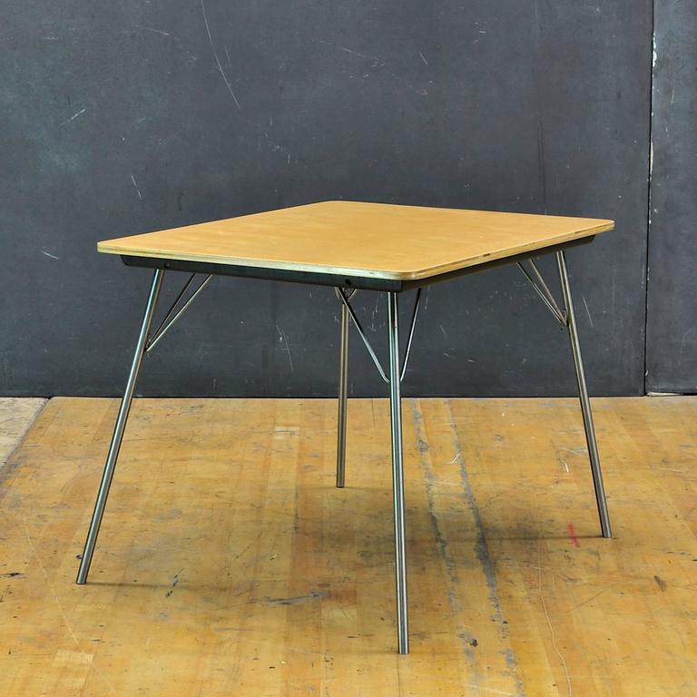 1947 Charles And Ray Eames IT 1 Incidental Folding Side Kids Table Herman  Miller 2