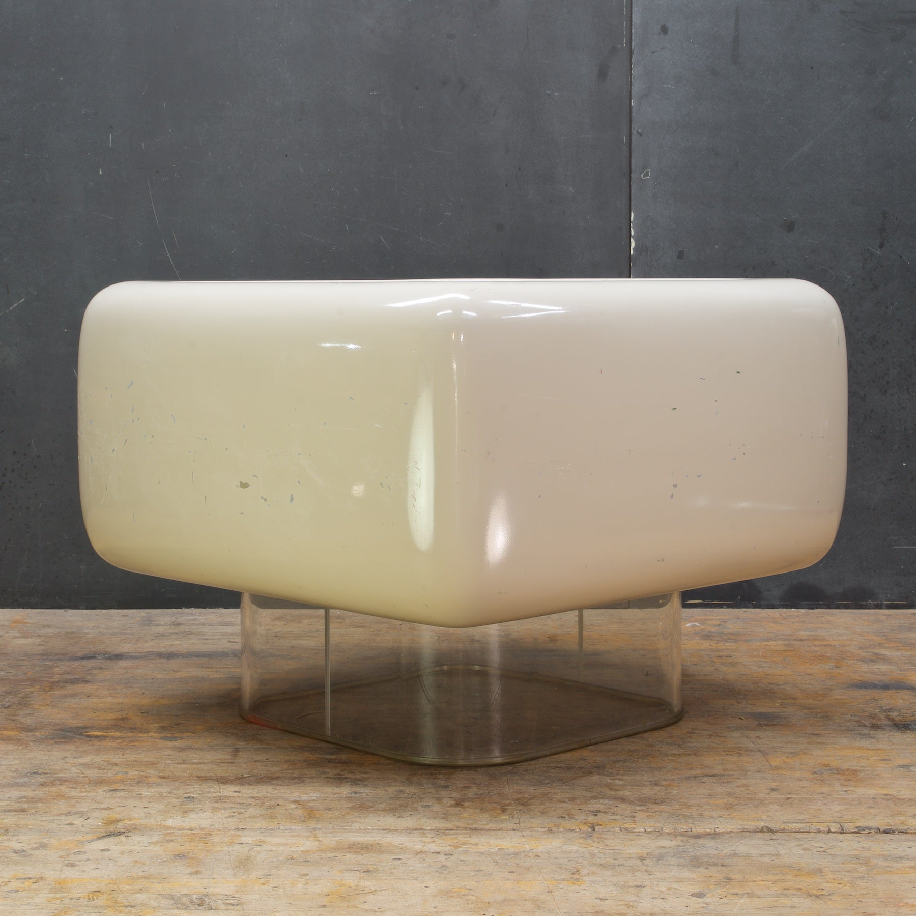 Pop Art Levitating Mushroom Table William Andrus Midcentury Mad Men Ottoman  For Sale At 1stdibs