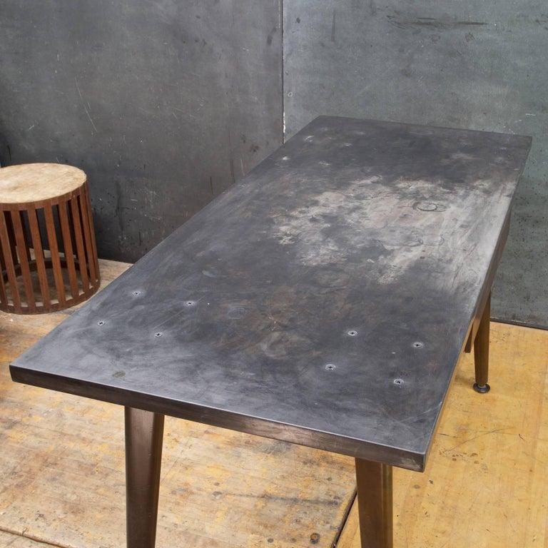 vintage industrial henway stone laboratory work table desk for sale at 1stdibs. Black Bedroom Furniture Sets. Home Design Ideas