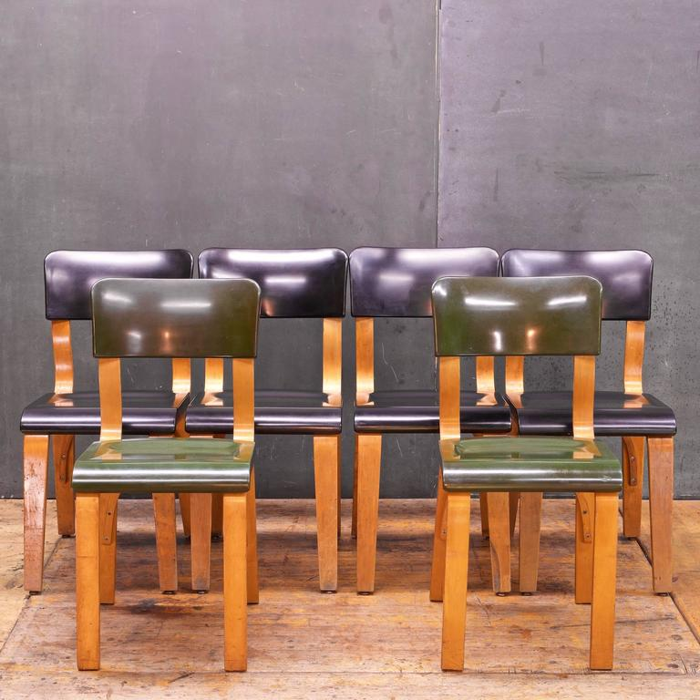 Rare Bakelite and Bentwood Thonet Dining Chairs at 1stdibs – Thonet Dining Chair