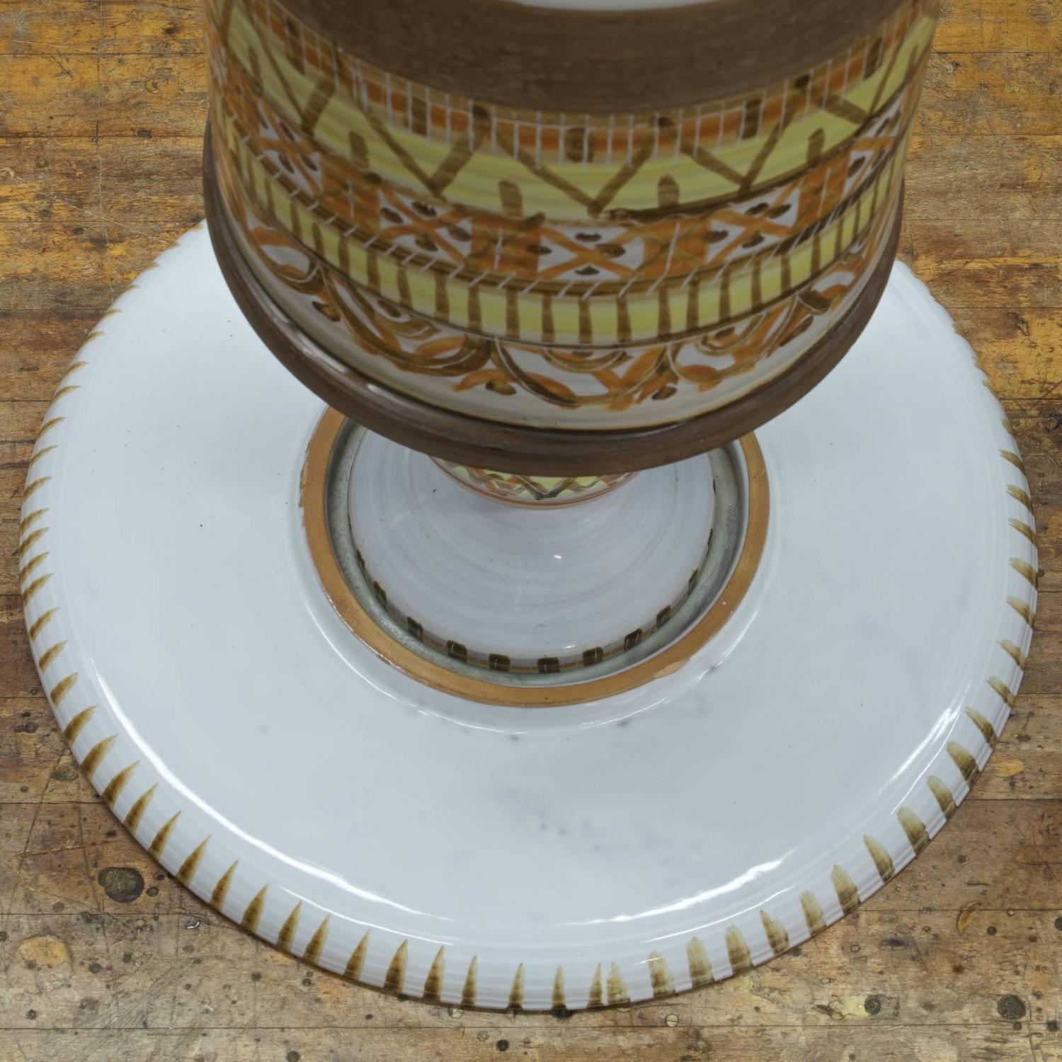 Bitossi Ceramic Petite Cocktail Table For Sale At 1stdibs