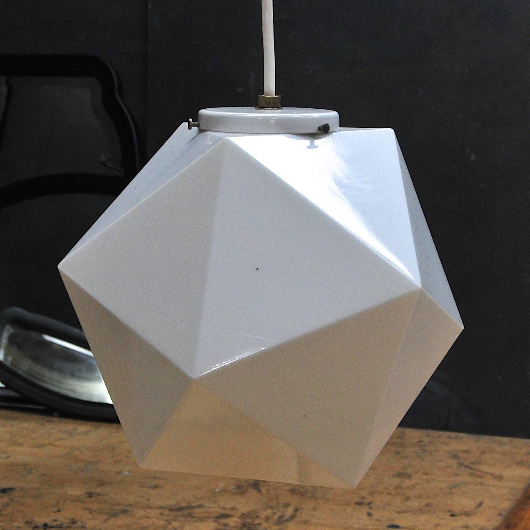 large picture of geometric pendant lamp ii id