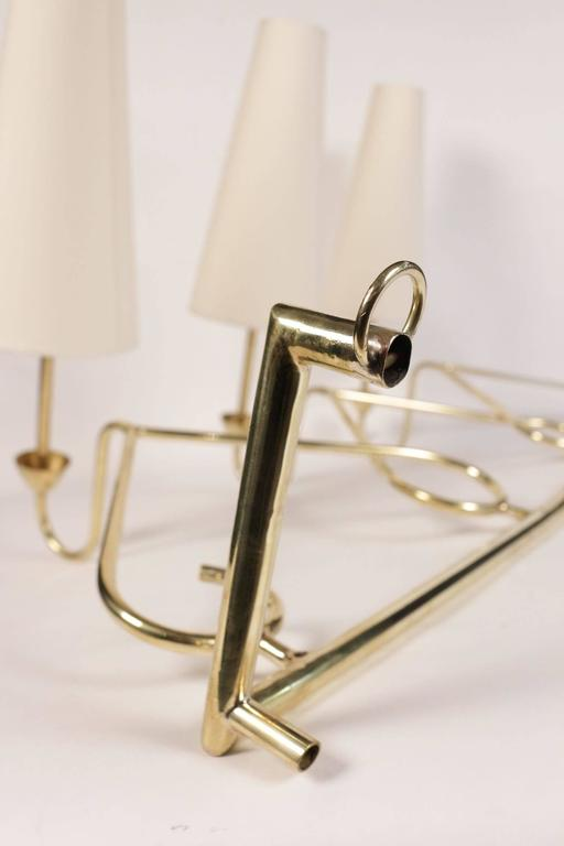 Large 1950s Sconce Attributed to Stilnovo For Sale 1