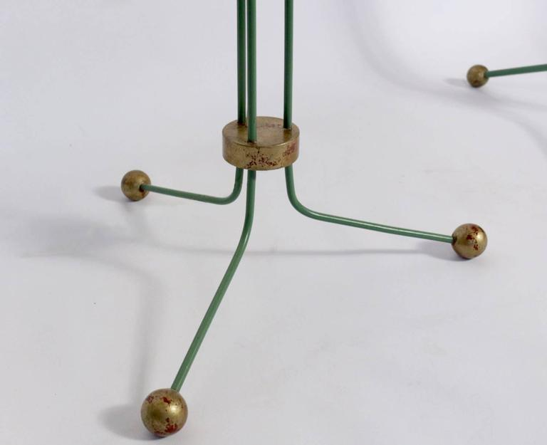 Set of Two Elegant Lamp Floor 1940 Attributed to Jean Royere For Sale 1