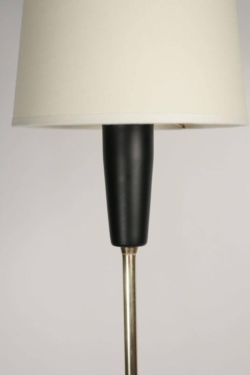 1950s Buckle Floor Lamp by Maison Lunel 3