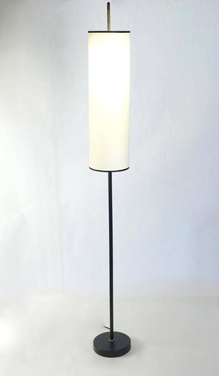 French 1950s Maison Lunel Floor Lamp For Sale