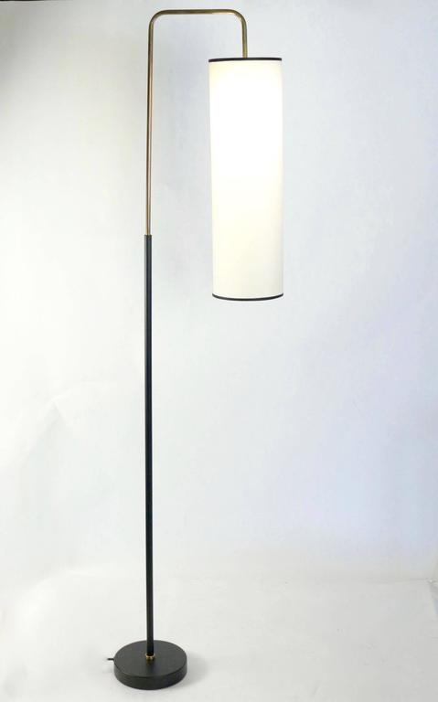 1950s Maison Lunel Floor Lamp In Good Condition For Sale In Saint-Ouen, FR