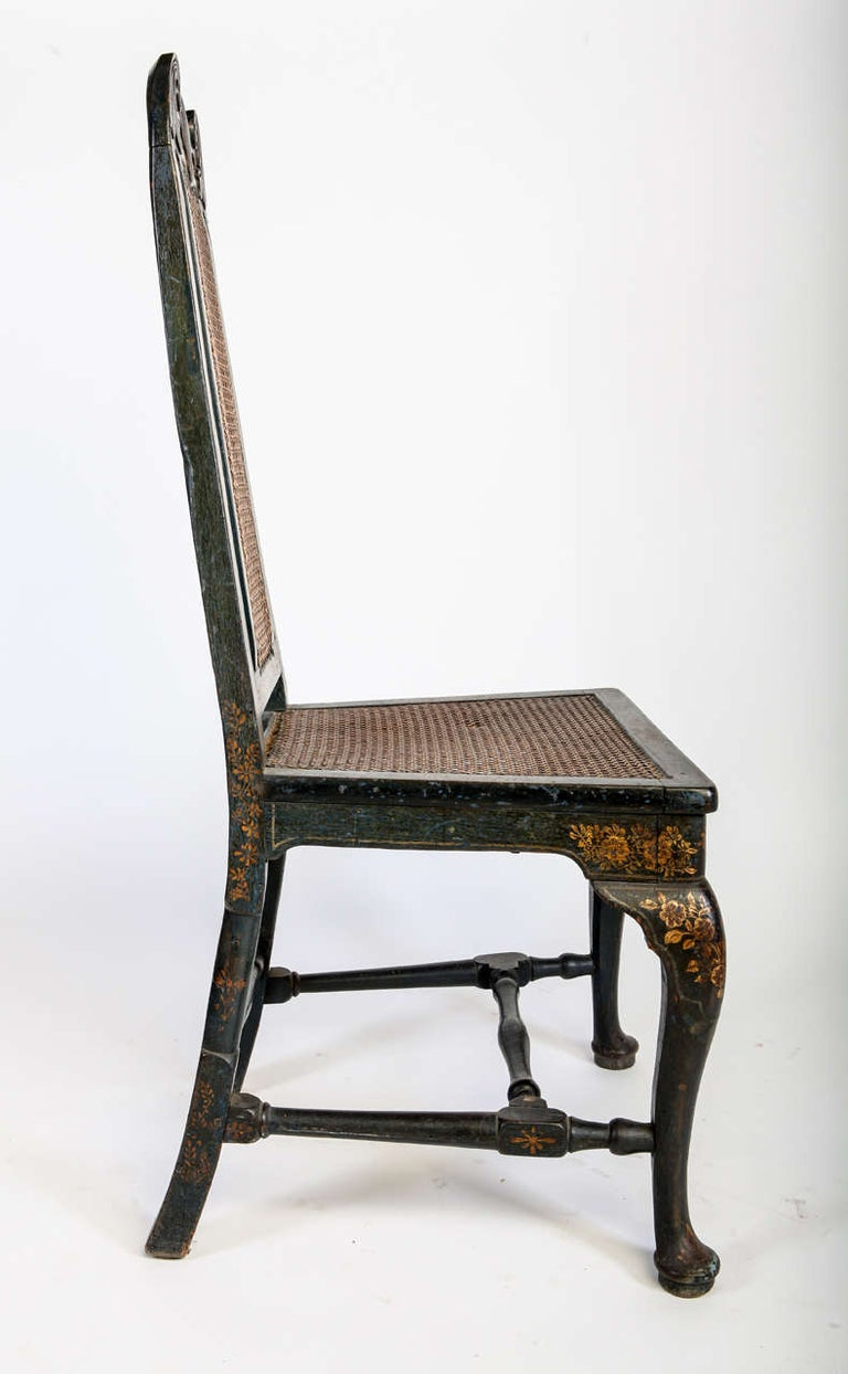 Fine Set of Six 18th Century Dining Room Chairs, England, 1750 For Sale 1