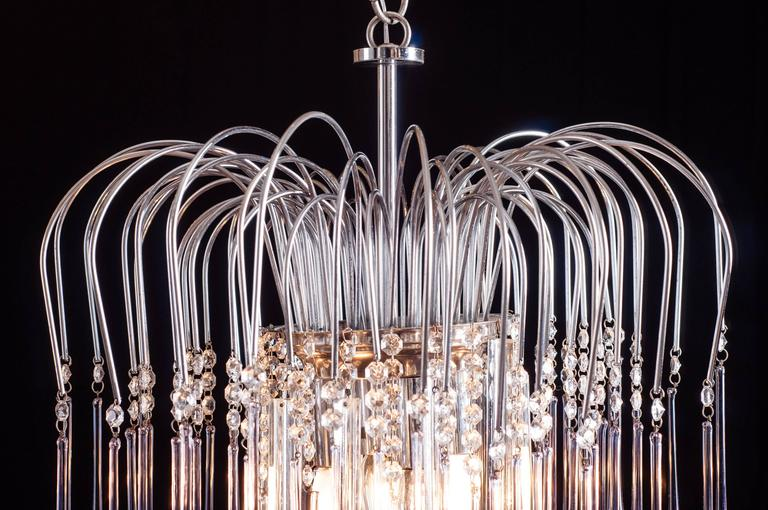 Murano Chandelier by Venini, 1960s In Excellent Condition For Sale In Rome, IT