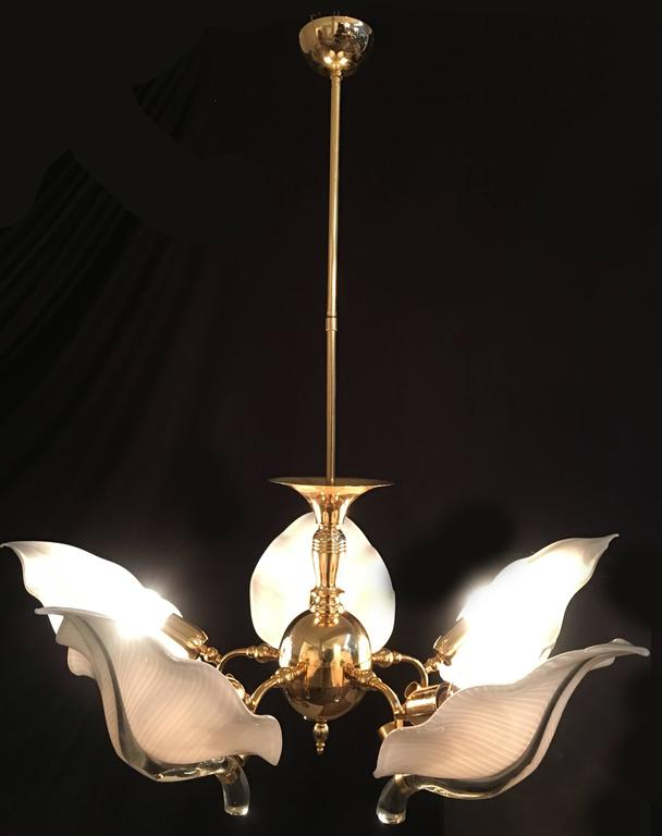 Fantastic Pair Of Murano Chandelier By Franco Luce Circa 1970 For Sale At 1s