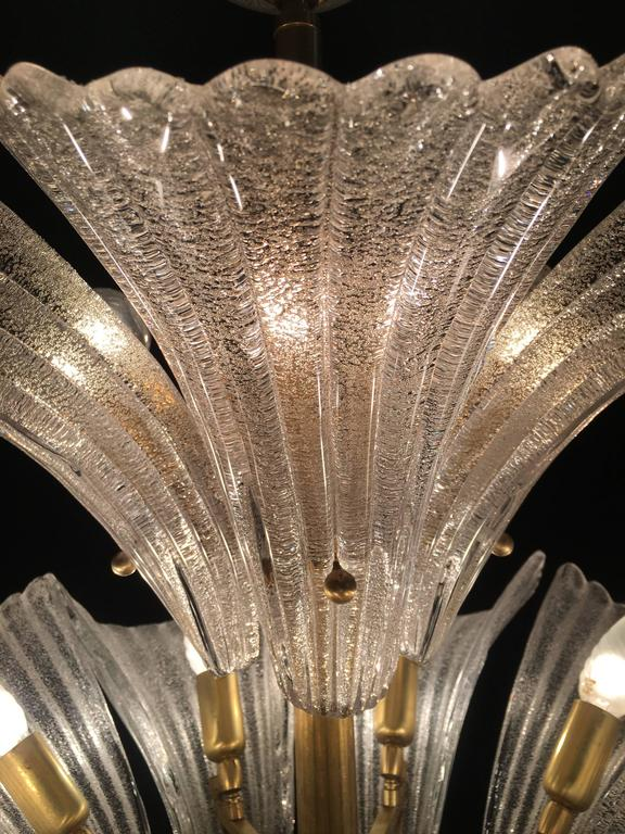 Murano Chandelier in style Barovier & Toso, 1950s 9
