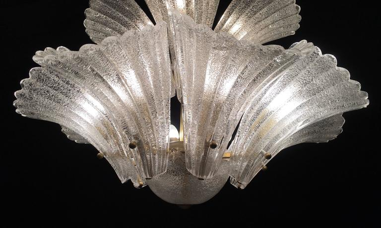 Murano Chandelier in style Barovier & Toso, 1950s 4