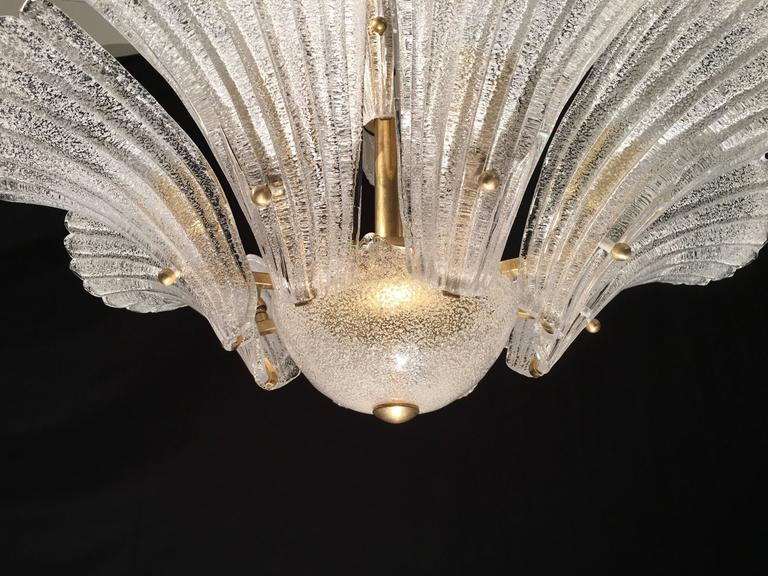 Murano Chandelier in style Barovier & Toso, 1950s 8